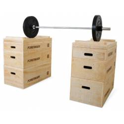WOODEN PLYO BOX POWERMARK CROSSFIT PM176