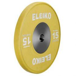 ELEIKO SUNKIOSIOS ATLETIKOS TRENIRUOČIŲ DISKAS 15 kg