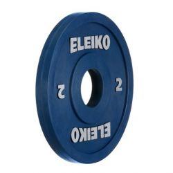 ELEIKO VARŽYBINIS/TRENIRUOČIŲ SUNKIOSIOS ATLETIKOS DISKAS 2,0 kg
