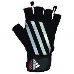 ADIDAS LEATHER WEIGHT LIFTING GLOVES