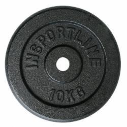 TĒRAUDA SVARU DISKI INSPORTLINE 20kg