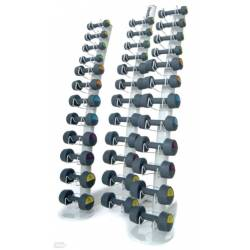REEBOK RACK DUMBBELL RACK FOR 18 PAIRS