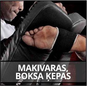 Makivaras, boksa ķepas